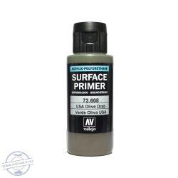 Vallejo Surface Primer – 73608 USA Olive Drab