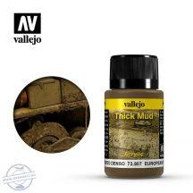 European Thick Mud - Európai színtérhez sűrű sár effekt