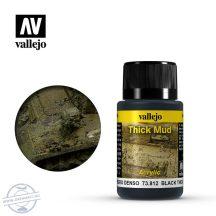 Black Thick Mud - Feketés, sűrű sár effekt