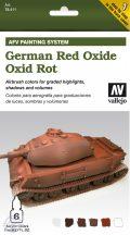German Red Oxide - Model Air Set AFV - 6 x 8 ml.