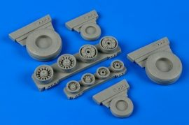 F-14A Tomcat weighted wheels - 1/48
