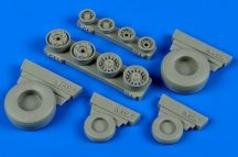 F-14B/D Tomcat weighted wheels -1/48