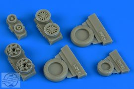 F-16I Sufa weighted wheels (GY production)  - 1/48