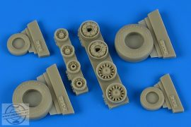 F-14B/D Tomcat weighted Wheels - 1/48
