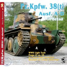 PZ.Kpfw. 38 (t) Ausf. A - D in detail