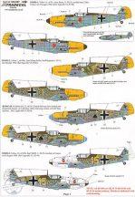 Battle of Britain Luftwaffe (8) Messerschmitt - 1/48