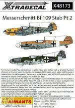 Messerschmitt Bf-109s with Stab markings Pt 2 - 1/48