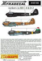 Junkers Ju-88C/D (8) Ju-88C-4 R4+BL 3/NJG 2  - 1/48