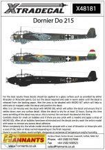 Dornier Do-215B-1/Do-215B-2/Do-215B-4/Do-215B-5 - 1/48