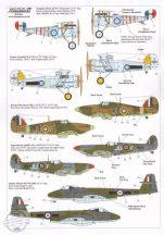 RAF 111 Squadron History 1918 - 2011 (9) Nieuport - 1/72