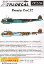 Dornier Do-17Z (11) AS+5K 8./KG3; F1... - 1/72