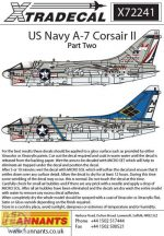 Colourful USN Vought A-7B/E Corsair II Part 2  - 1/72