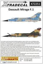 Dassault Mirage F.1CR (9) Mirage F.1CT 30-MF EC... - 1/72