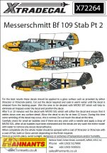 Messerschmitt Bf-109s with Stab markings Pt 2  - 1/72